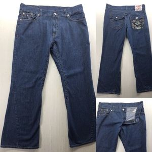 True Religion joey bootcut Jeans Mens Size 38x32
